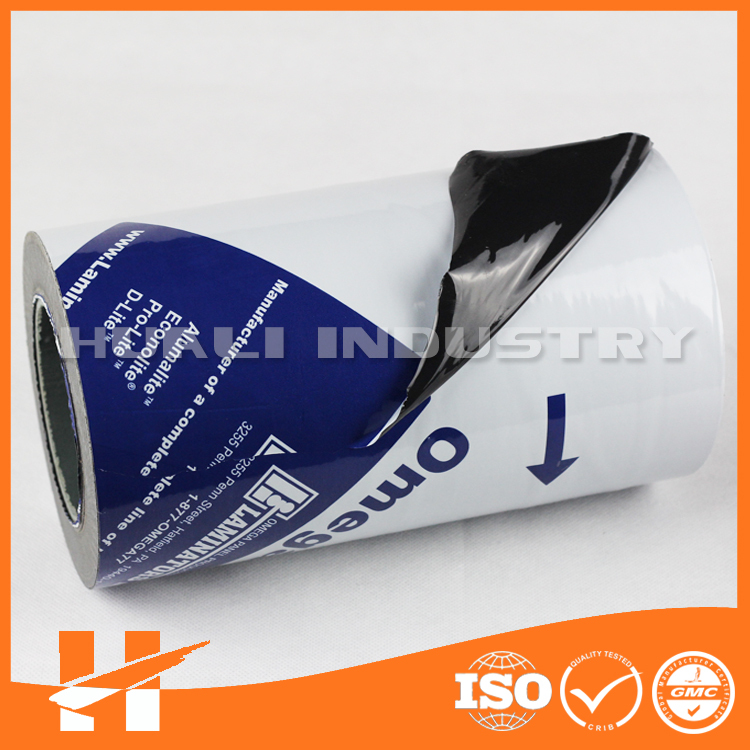 Black and white PE cling film for ACP surface protection