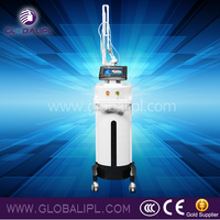 Professional 3 system acne scar removal vaginal tightening wrinkle removal fractional co2 laser scanner