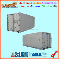 Refrigerated cargo container type non - used 20ft reefer containers for sale