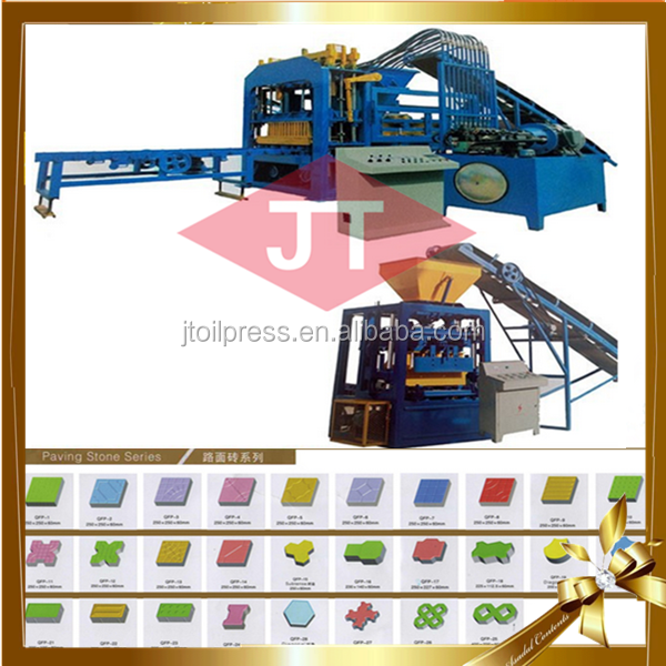 engeneer recomending clay concrete slab making machine for small business