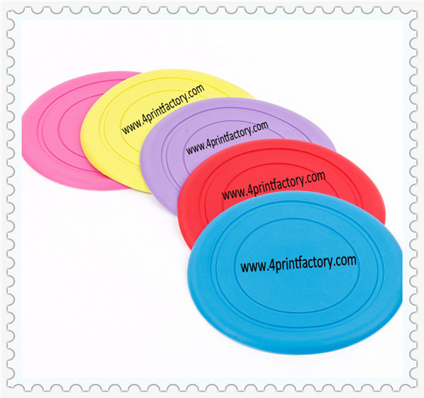 Hot sale Wholesale Nontoxic Silicone Kids or Dog Frisbee With Different Color For Promotion