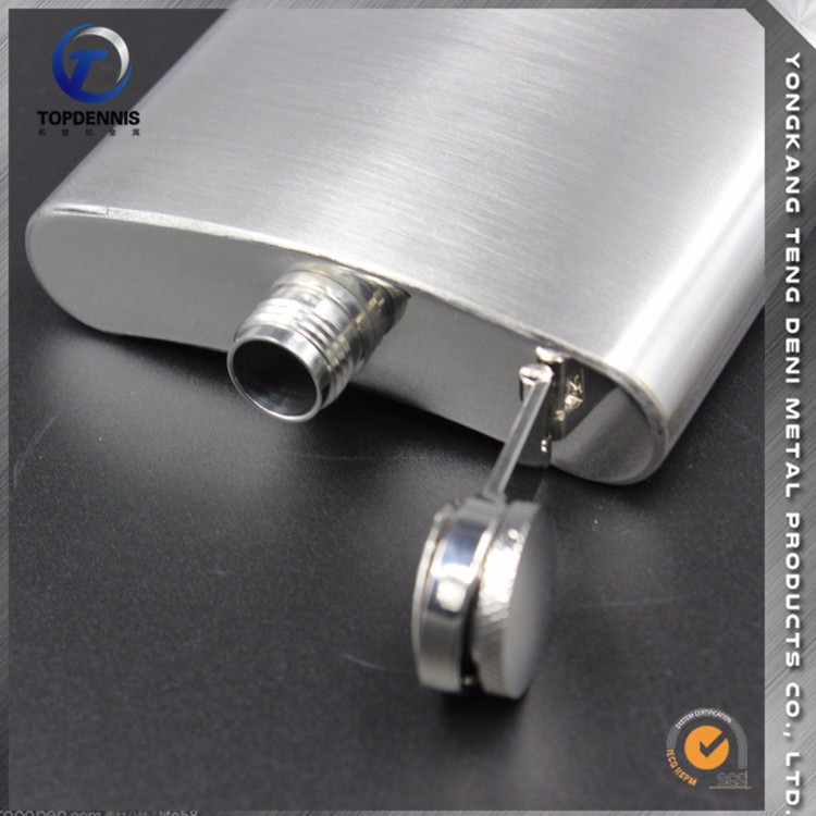 Made In China Factory Direct Sale 10 oz hip flask