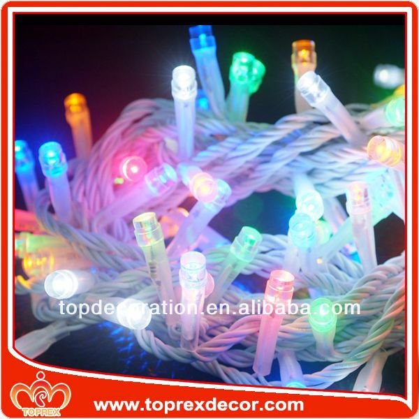 Connectable mini commercial grade christmas lights
