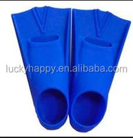 Short Blade Swim Training Soft Silicone Fins Water Sport