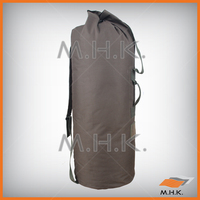 Military Canvas Cotton Duffle Bag with shoulder strap and belt