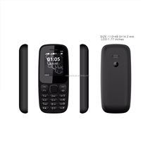 2018 unlocked cell phone mobile phone copy dual sim for nokia 105