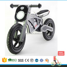 "New Ander 12""Wheel Size and Plastic Rim Material Wooden Motorcycle Balance Bike Toy"