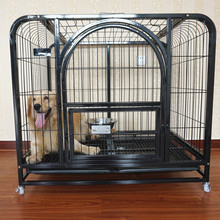 cheap price attractive design small dog kennel black dog cage
