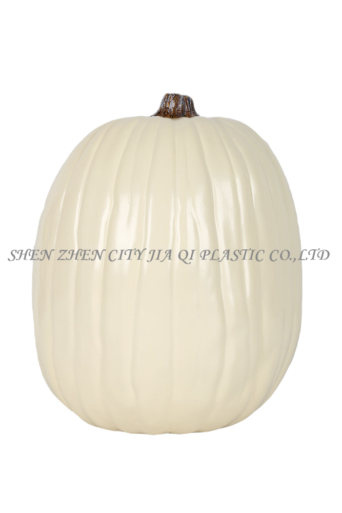 "13"" Varisized Polyurethane Carved PU Halloween Decoration Pumpkin"