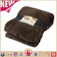 Snuggle Touch Microfibre Polyester Throw Chocolate 140x180cm BRAND NEW