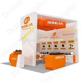 Wooden Paint 20x20 Show Exhibition Booth for Rent in Shanghai