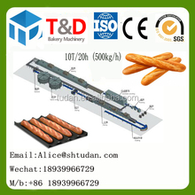 Professional Bakery Equipment factory supplier T&D Baguette making machine bakery oven french bread production line plant