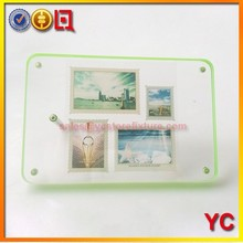 Acrylic postage stamp display