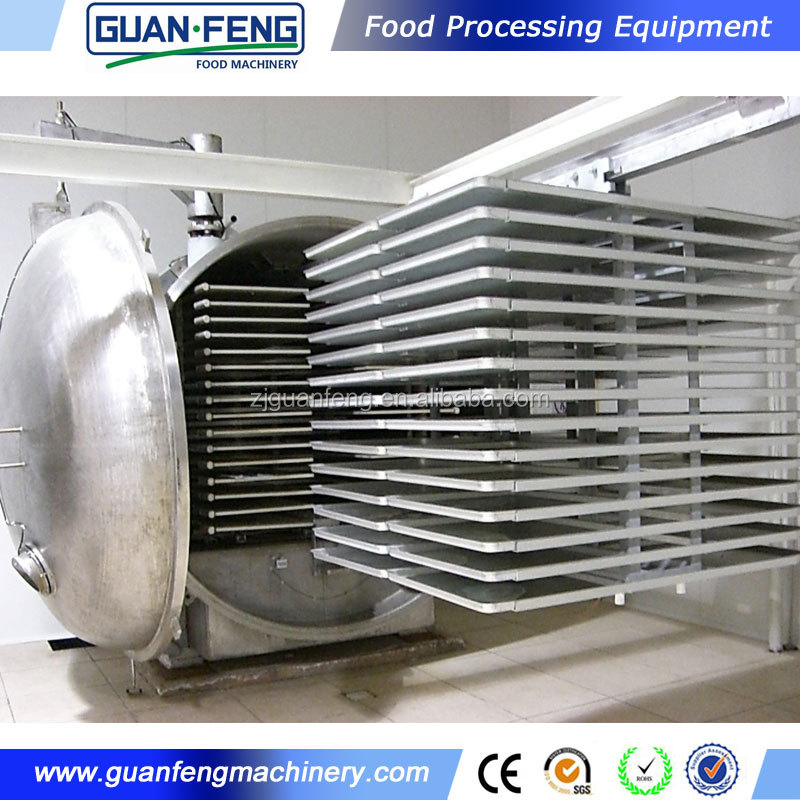 freeze drying machine for freeze dried okra