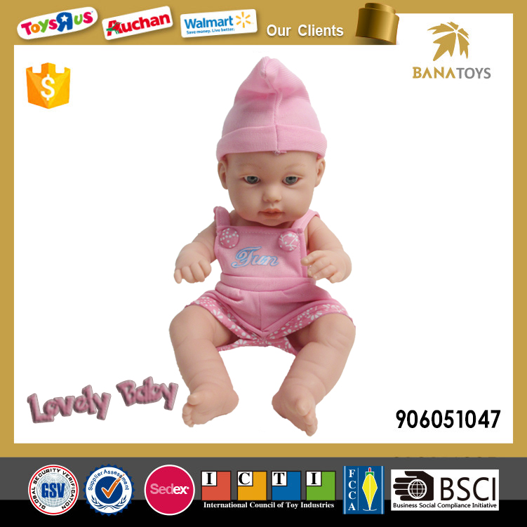 Hot sale 12 inch vinyl baby doll for girls