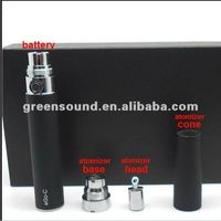 green sound factory direct sale ego c atomzier with changeable system and best quality e cigarette component e-cig