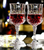 High quality Classical wedding handmade red wine goblet glass cups for wine