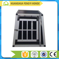 Alibaba China Supplier Metal Aluminum Dog Cage