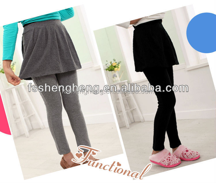 Custom printed women maternity casual pants of 100% cotton pregnant leggings AD006