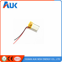 Customized Sizes High Quality Super Small 3.7v 30mah Lipo battery cell