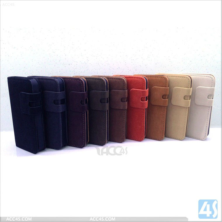 Amazon hot sell France hot sell cheap price Multi color leather case for iphone 5 5G P-IPH5CASE119