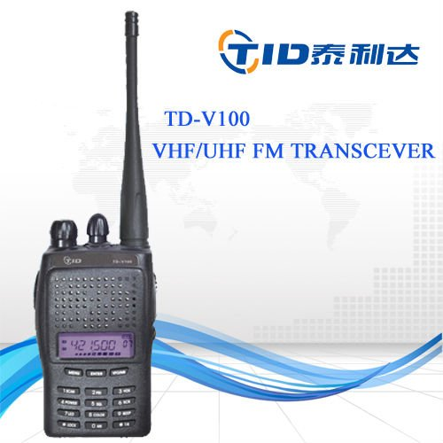 TD-V100 with lcd professional low cost p25 digital radio