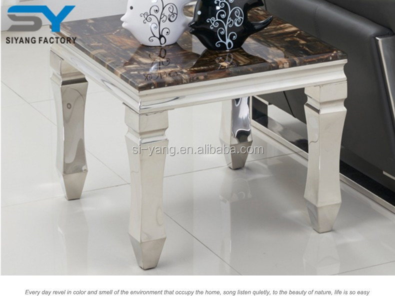 Hotel furniture wooden side table sofa table JJ037