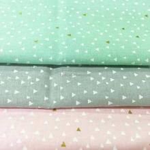 High quality wholesale dyeing printing custom homespun cotton fabric