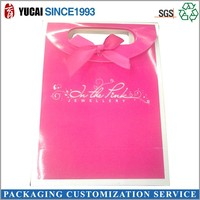 Birthday gift pink paper gift bag for packaging