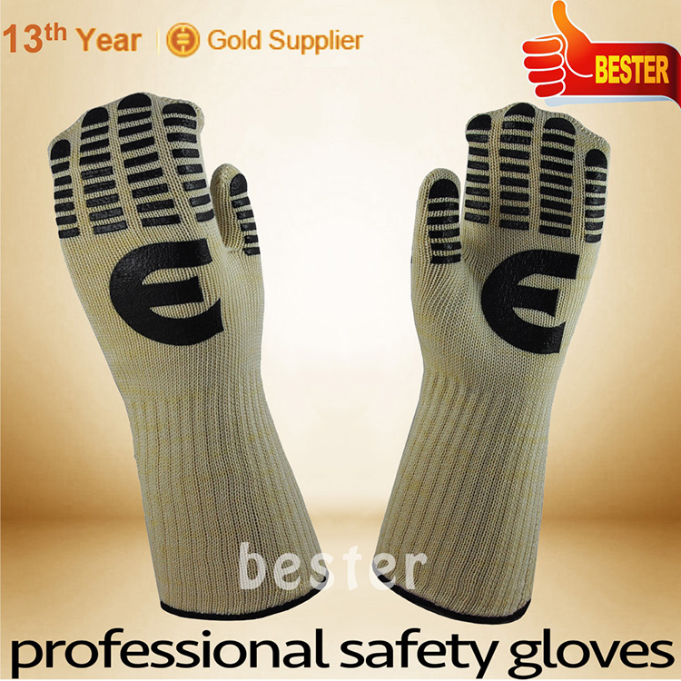 Bottom price special wool new heat resistant gloves