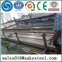 polished stainless steel pipe/tubing sizes