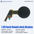 factory price 1.39inch oled display 20 pin 1.39 inch oled round