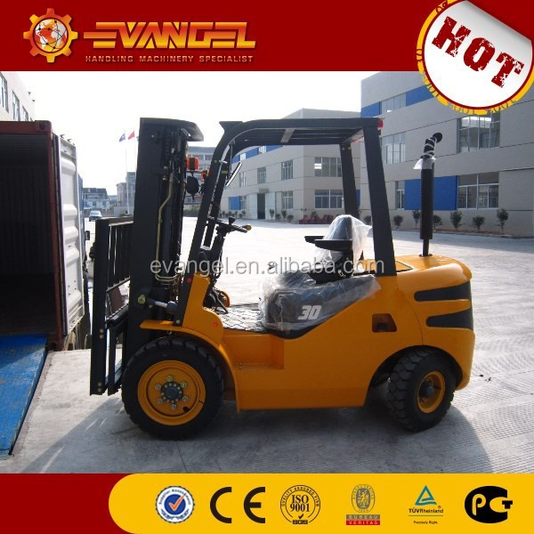 China 5ton Huahe diesel articulated forklift with high quality