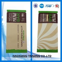 Top open,three side seal aluminium lamination chocolate packaging bag