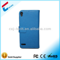 Alibaba in russian blu cell phone cases for huawei ascend 6 with good pu leather