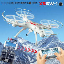 Newest syma x5sw fpv drone with hd camera rc drone quadcopter fpv