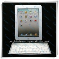 High Quality 80 Keys Aluminum Mini Bluetooth Wireless Keyboard For iPad/ For iPhone/ For Smartphone