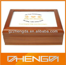 High quality custom made-in-china wholesale wooden wine boxes (ZDS-SE178)