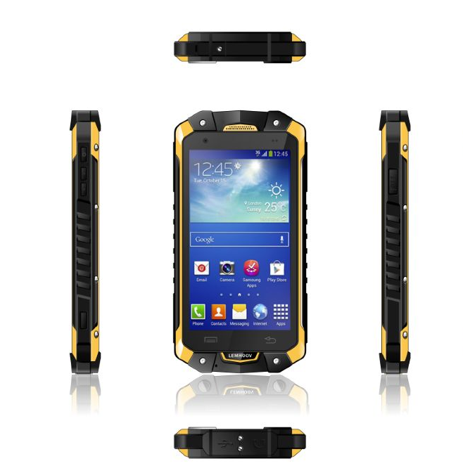 "IP67 4.5"" Tri-proof smartphone Waterproof Dustproof Shockproof Android 4.2 MTK6582 Quad Core 1GB RAM 4GB ROM"