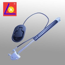Lockable gas spring for massage chair and health bed