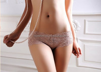 Popular Wholesale Price Lace High Qulaity Seamless Sexy Low Waist Ladies underwear panties