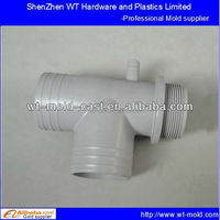 plastic tee joint tooling injection molding