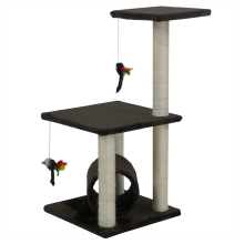 Wholesaler cheap wood cat tree for pets