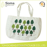 Service supremacy new products promotional tote canvas shopping bag