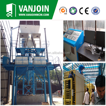 Fully Automatic Lightweight Eps Concrete Block Making Machine