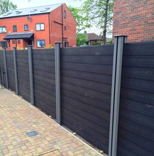 wpc post wood plastic composite fencing railing outdoor