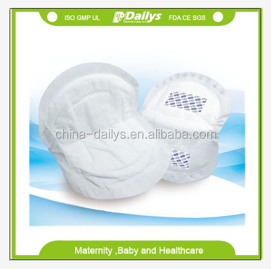 Disposable bamboo breast milk pad
