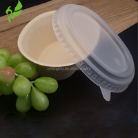 disposable snack bowl hot food non-toxic take away packaging plastic lid for snack packaging