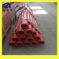 Concrete pump pipe line ST52 seamless delivery pipe / concrete pump spare parts