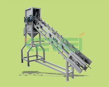 coconut dehusking / processing machine